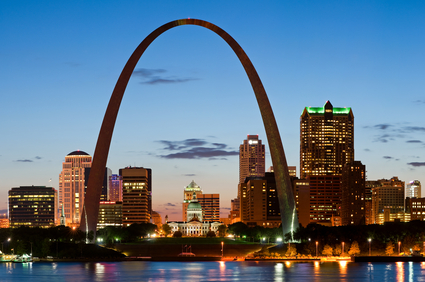 Corporate housing in St. Louis - Picture of the Arch